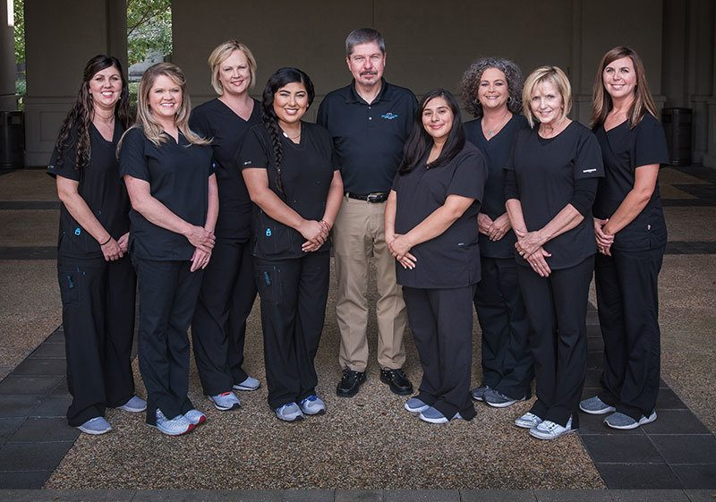 The team of Singing River Dentistry in Russellville, AL